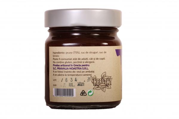 Gem de prune fara zahar 240g 1