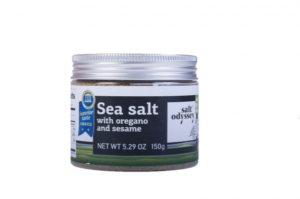 Sare de mare - cu oregano si susan - 150 g 0