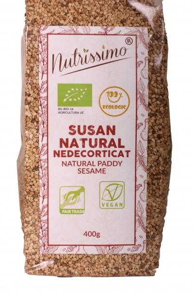 Susan natural nedecorticat 400g ECO 0