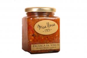 Zacusca naturala de vinete - fara adaos de zahar- 300g [0]