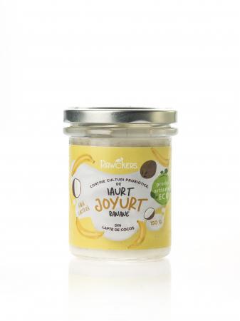 Joyurt - Iaurt din lapte de cocos cu banane ECO - Rawckers [0]