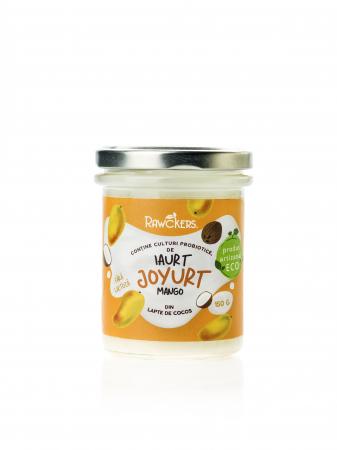 Joyurt - Iaurt din lapte de cocos cu mango ECO - Rawckers [0]