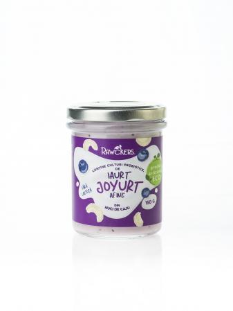 Joyurt - Iaurt din nuci caju cu afine ECO - Rawckers [0]