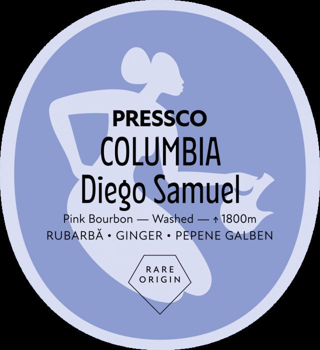Colombia Diego Samuel Pink Bourbon, Cafea de Specialitate [0]