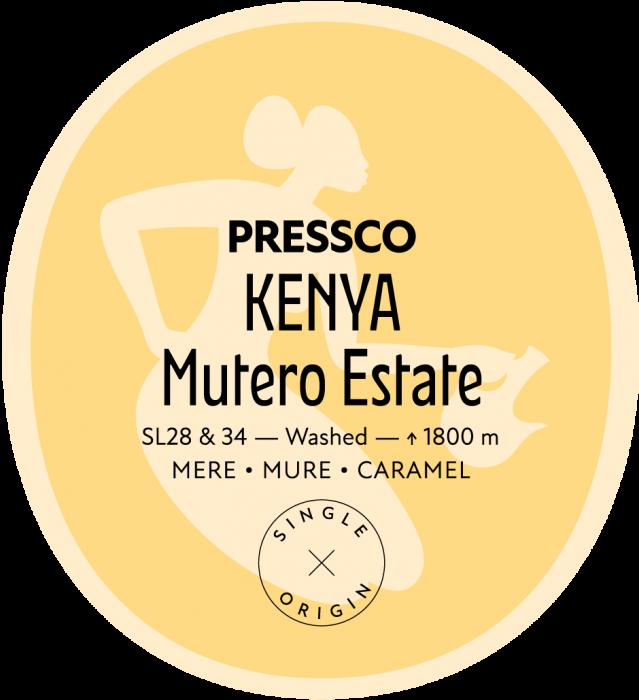 Kenya Mutero, Cafea de Specialitate [0]