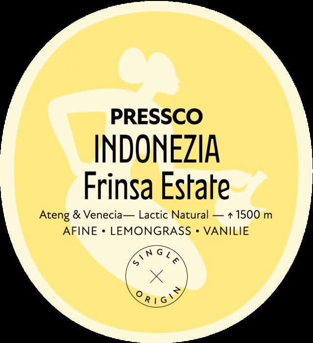 Indonesia Frinsa Lactic, Cafea de Specialitate 0