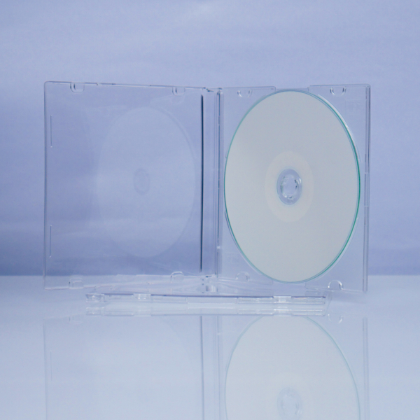 Carcasa CD slim case transparenta 0