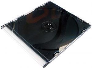 Carcasa CD slim cu spate negru 0