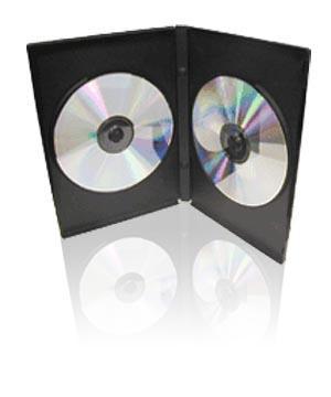 Carcasa DVD pentru 2 discuri 0
