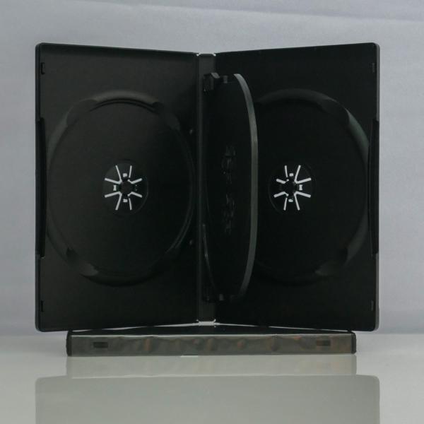 Carcasa DVD pentru 3 discuri 0
