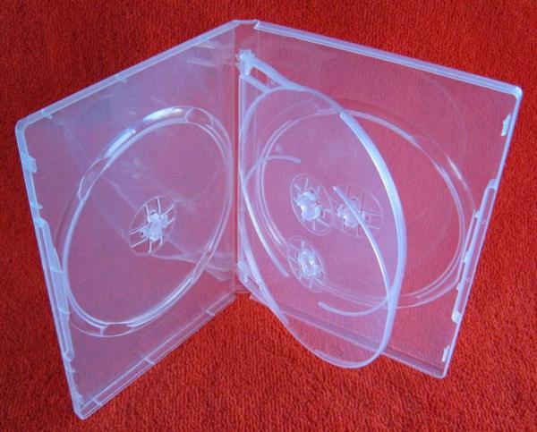 Carcasa DVD pentru 4 discuri (transparenta) [2]