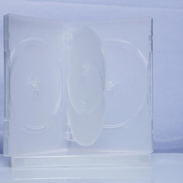 Carcasa DVD pentru 4 discuri (transparenta) [0]