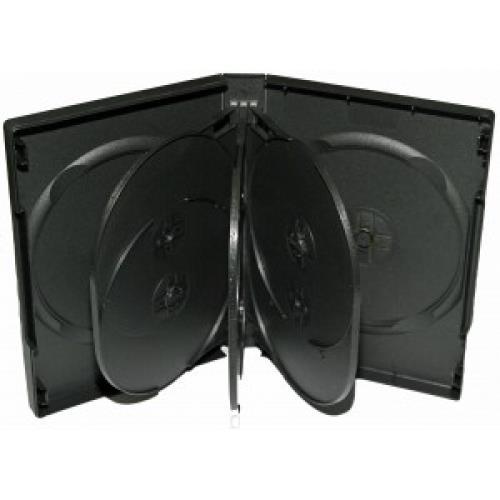 Carcasa DVD pentru 8 discuri (neagra) 0