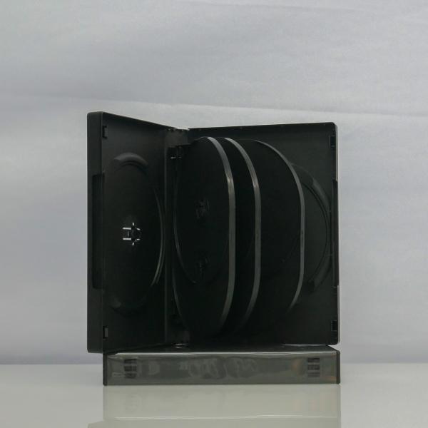 Carcasa DVD pentru 8 discuri (neagra) 1