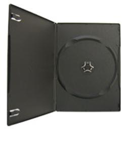 Carcasa DVD – slim 7 mm (neagră) 0
