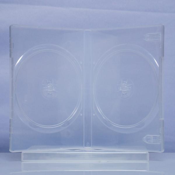 Carcasa DVD transparenta pentru 2 discuri 0