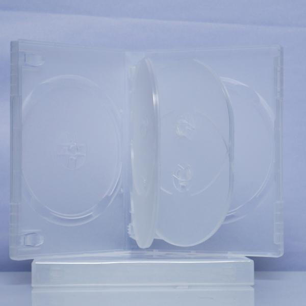 Carcasa DVD transparenta pentru 6 discuri 0