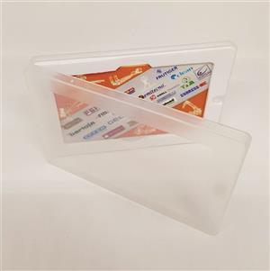 Carcasa transparenta card USB 3