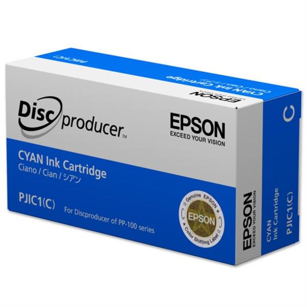 Cartuș de cerneală Cyan PJIC1(C) pentru Epson DiscProducer 0