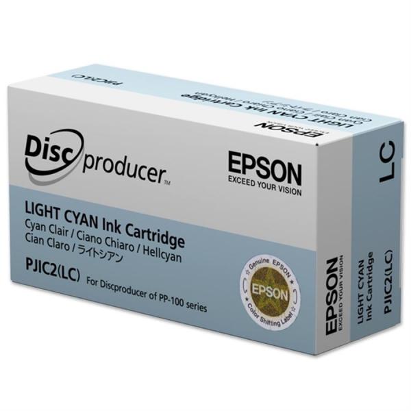 Cartuș de cerneală Light Cyan PJIC2(LC) pentru Epson DiscProducer 0