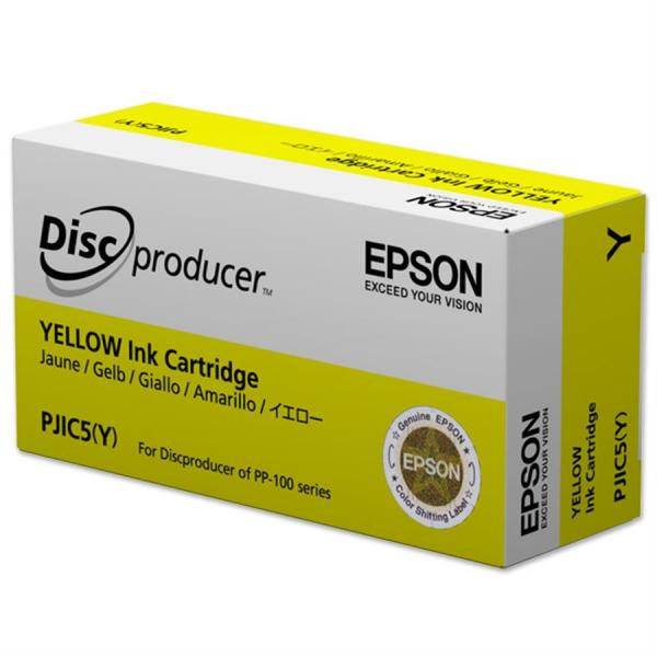 Cartuș de cerneală Yellow PJIC5(Y) pentru Epson DiscProducer 0