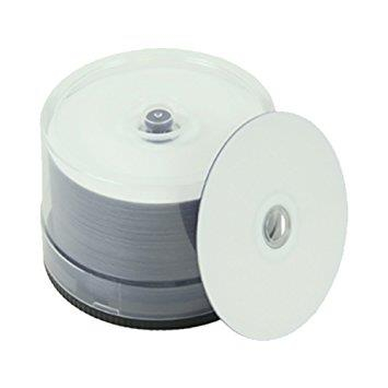CMC Taiyo Yuden DVD-R printabil  WaterShield ALB LUCIOS, water-resistant 50 bucăți 0