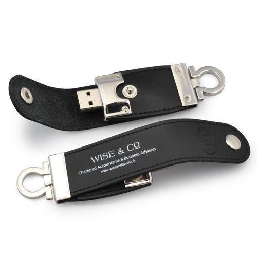 Flash Drive USB personalizat, îmbrăcat în PIELE colorată 0