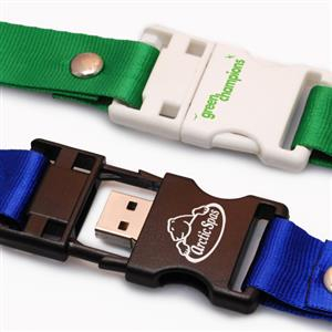 Flash Drive USB personalizat, tip lanyard 2