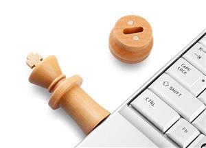 Flash Drive USB personalizat, tip PIESĂ de ȘAH 5