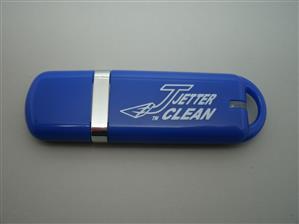 Flash USB personalizat, din material plastic mat și color 2