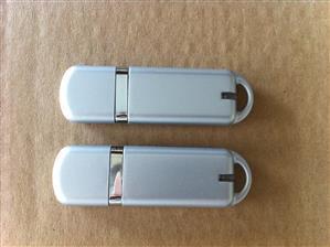 Flash USB personalizat, din material plastic mat și color 1