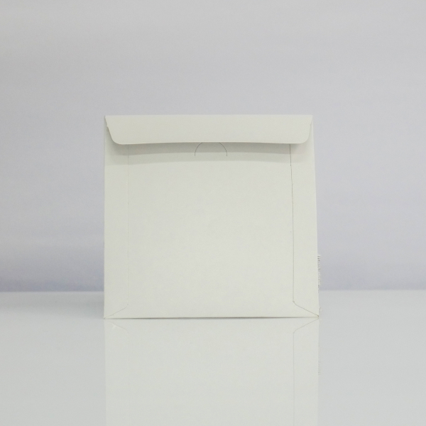 Plic CD din carton alb 100 bucăți 1