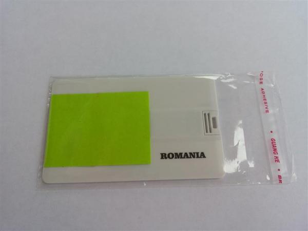 Plic din plastic transparent pentru ambalarea cardurilor USB 0