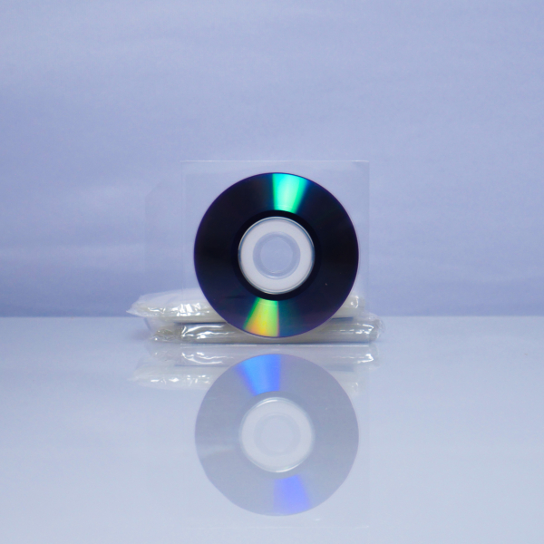 Plic Mini CD sau Mini DVD, transparent 50 bucăți 1