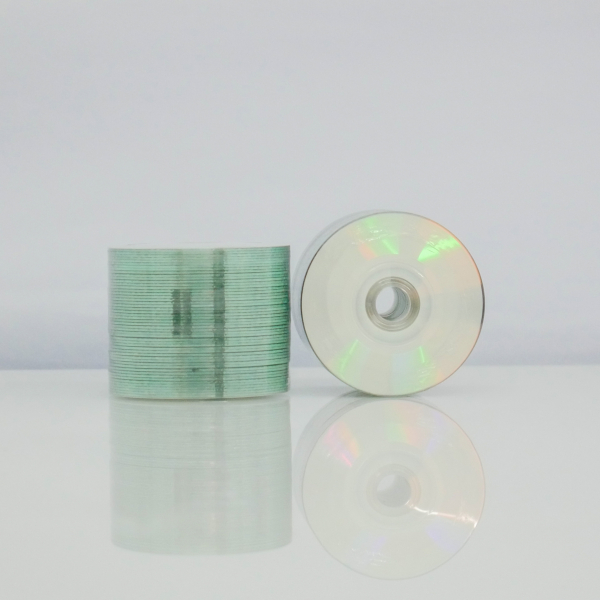 MediaRange Mini CD full printabil ALB MAT 50 bucăți 1
