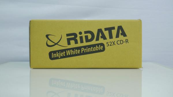 Ridata CD-R full printabil alb mat 50 bucăți 3