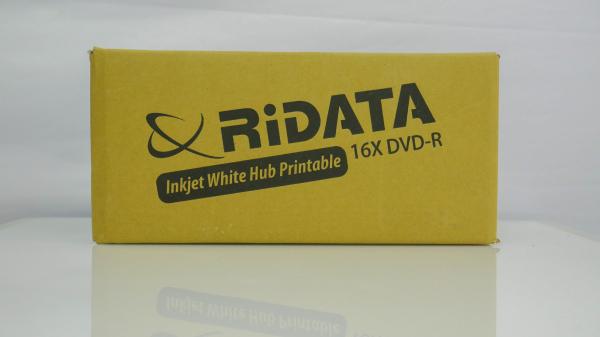 Ridata DVD-R full printabil alb mat 50 bucăți 3