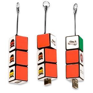 Stick USB cub RUBIK personalizat 1