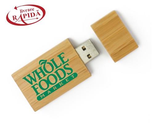Stick USB din lemn 0