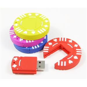 Stick USB jeton de poker 1