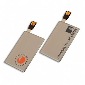 Stick USB personalizat – BUSINESS CARD metalic 3