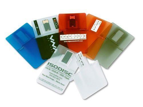 Stick USB personalizat - CARD din plastic transparent 0