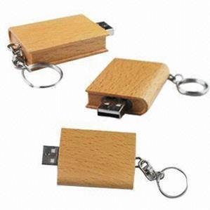 Stick USB personalizat, din LEMN, tip MANUSCRIS [1]