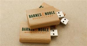 Stick USB personalizat, din LEMN, tip MANUSCRIS [3]
