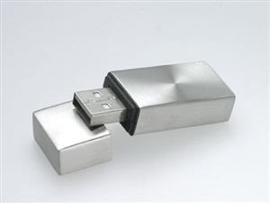Stick USB personalizat, din METAL, cu design clasic 2