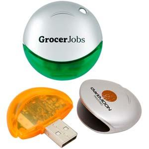 Stick USB personalizat sferic 0
