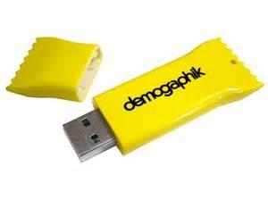 Tentații dulci? Nu, Stick-uri USB personalizate și amuzante! 3