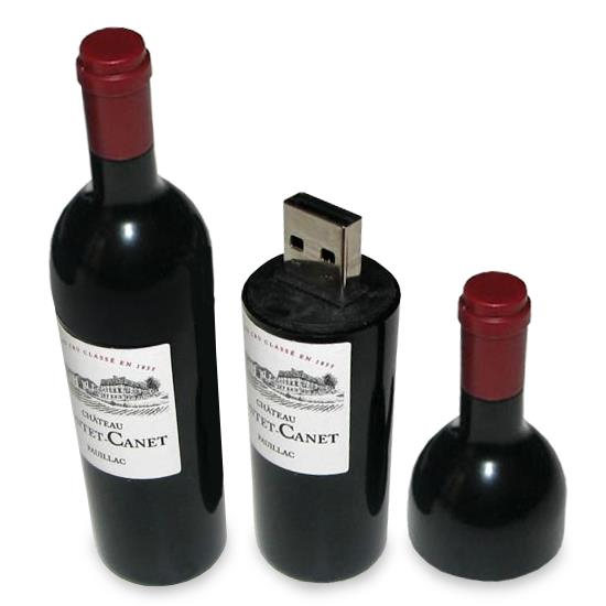 USB - sticlă de VIN 0