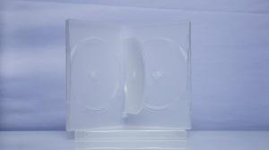 Carcasa DVD pentru 3 discuri (transparenta)0