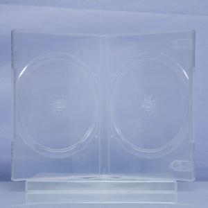Carcasa DVD transparenta pentru 2 discuri0